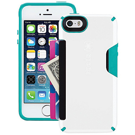 low priced 13c75 a394b Speck CandyShell Card Case for iPhone 5, 5c, 5s & 6 on sale at evine.com