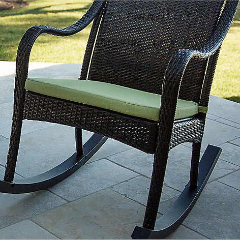 Hanover Outdoor Furniture Orleans Rocking Chair Seat Cushion On Sale At Evine Com