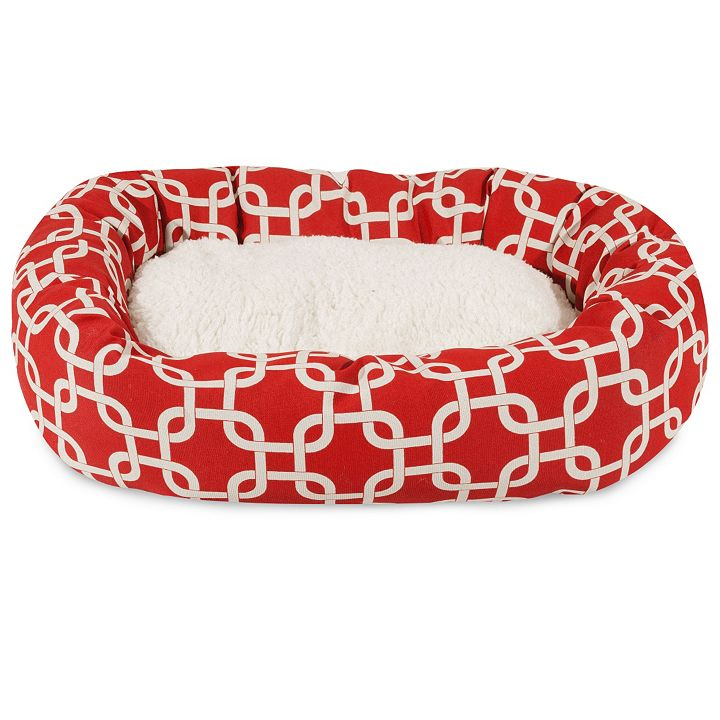 Pet Shoppe - 459-251 Majestic Pet Products Villa Sherpa Bagel Bed