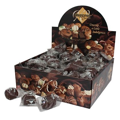 459-939 Waggoner Chocolates Premium (3 lbs) Individually Wrapped Chocolate Covered Marshmallows