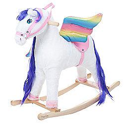 460-378 Happy Trails Peyton the Pegasus Rocking Animal - 460-378