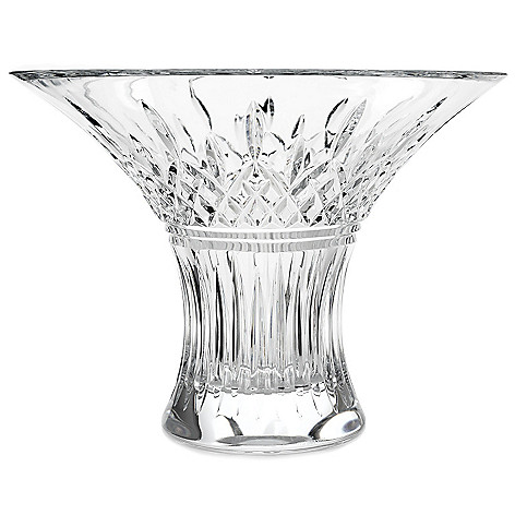 Waterford Crystal Lismore 11 Wedge Diamond Cut Flared Bouquet