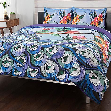 462 828 Anuschka At Home Midnight Peacock 100 Cotton 3