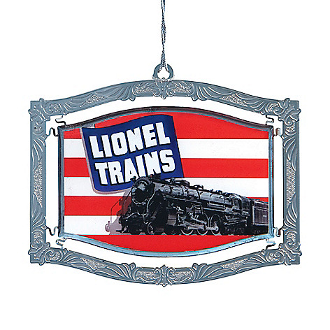 2bda4ec2cd8ab 463-185- Lionel Trains Art Collection Scale Hudson Locomotive Ornament by  Chem Art