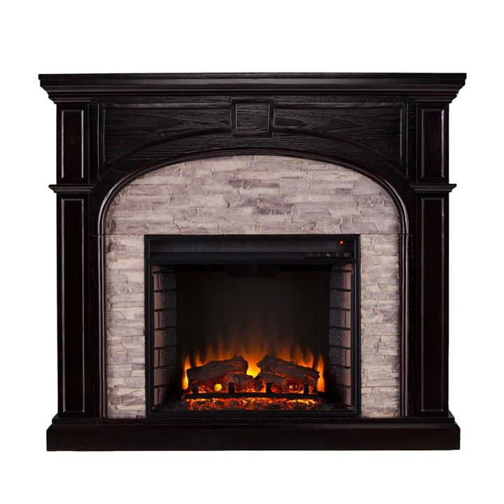Cold Weather Essentials at ShopHQ | 464-791 NeuBold Home 45.75 Tennicott Electric Fireplace