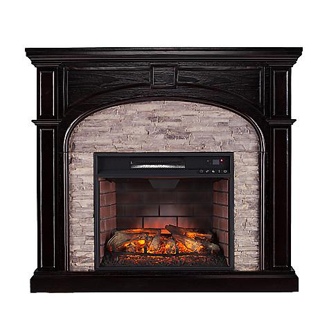 Neubold Home 45 75 Tennicott Quartz Infrared Electric Fireplace Evine