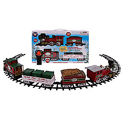 Lionel Trains North Pole Central Ready-to-Play Large Gauge Train Set