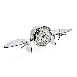 "Godinger 13"" Aviation-Themed Decorative Clock"