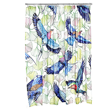 466 634 Anuschka At Home Enchanted Stories 100 Cotton Shower Curtain