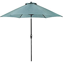 Hanover Outdoor Furniture Blue Lavallette Table Umbrella
