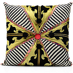 Home Accents 470-162 MacKenzie-Childs Portobello Road 20 Silk Decorative Pillow - 470-162