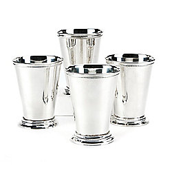 Passport Collection Set of 4 Mint Julep Cups w/ Gift Box