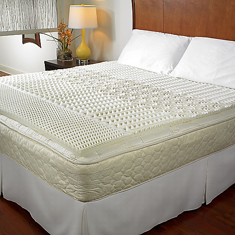 Zone Memory Foam Mattress Topper