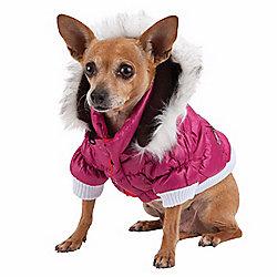 Pet Life Metallic Fashion Pet Parka Dog Coat - 472-358