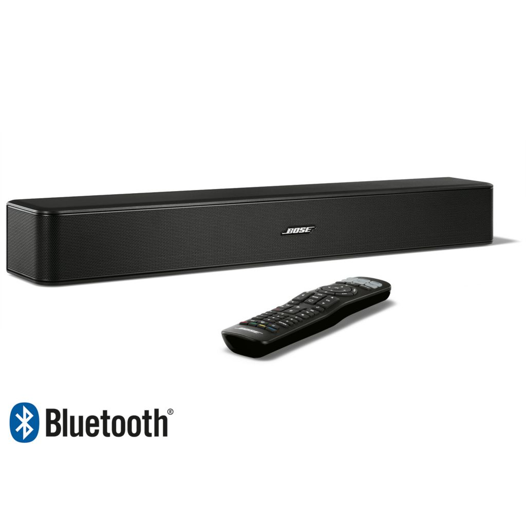 Bose Solo 5, Bluetooth Wireless, TV Sound System, w/ Universal, Remote