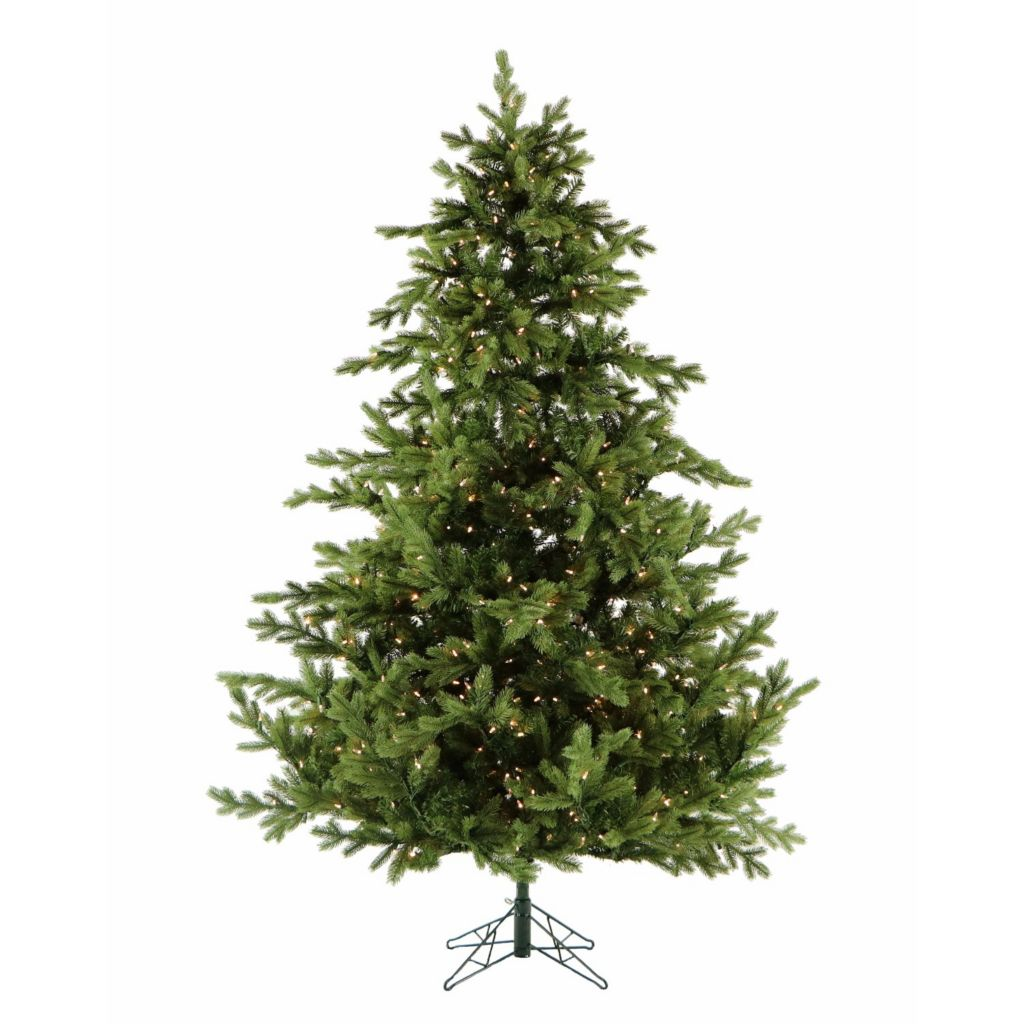 Artificial Christmas Tree Sizes.Fraser Hill Farm Choice Of Size Lights Foxtail Pine Artificial Christmas Tree