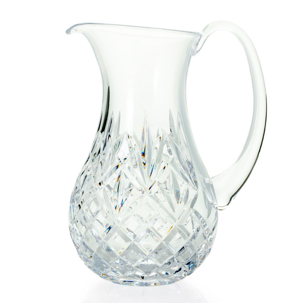 Waterford Crystal, Innisfree 44 oz, Fan & Wedge Cut, Pitcher