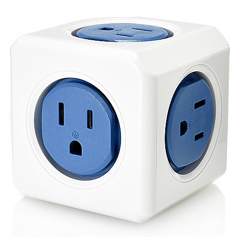 Super Socket, 5-Port, Compact Wall, Surge Protector on sale at evine com