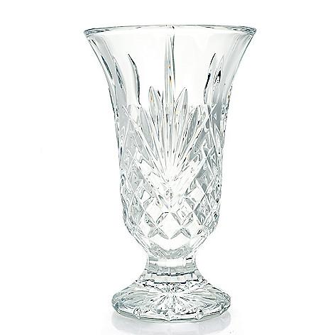 Marquis By Waterford Glendale 10 Fan Wedge Cut Footed Crystalline