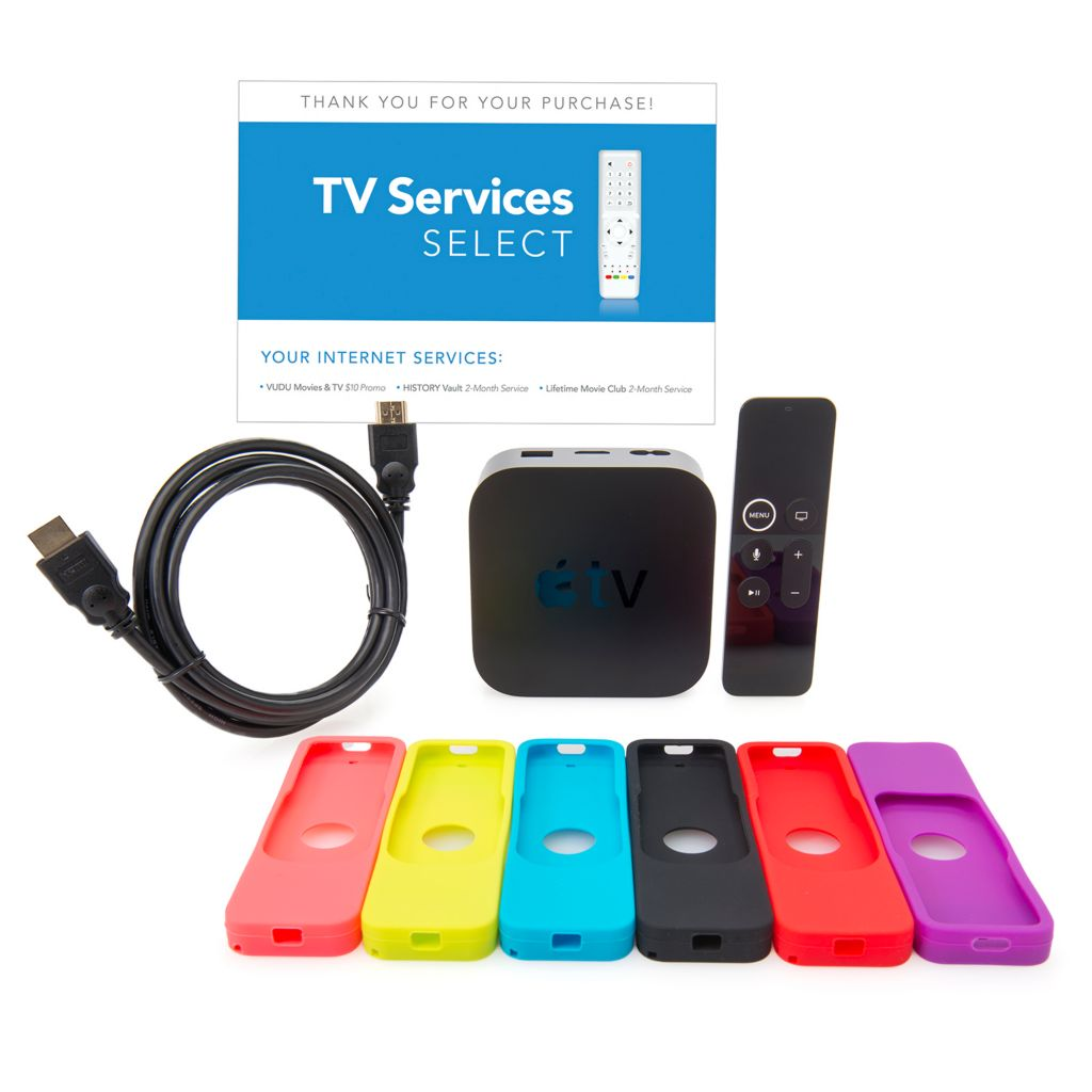 Do I Need A Special Hdmi Cable For Apple Tv: Apple® TV 4K Streaming Device w/ Remote Cover HDMI Cable rh:evine.com,Design