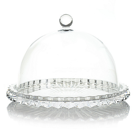 475 998 Marquis By Waterford Heritage 6 5 Crystalline Cheese Plate W Dome