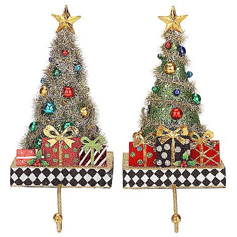 476 117 mark roberts christmas tree set of 2 11 stocking - Mark Roberts Christmas