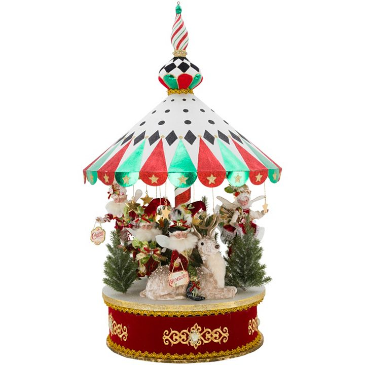 Collectibles - 476-134 Mark Roberts 41 Limited Edition Peppermint Big Top Carousel