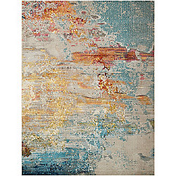 Rugs at Evine - Nourison Celestial Sealife Choice of Size Rug - 476-178 - 476-178