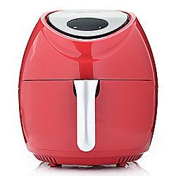 476-626 Cook's Companion® 1700W 7.4 qt Single Basket Digital Air Fryer w Crisping Insert - 476-626