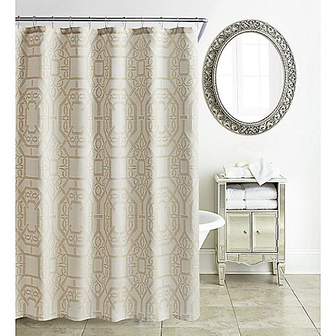 476 691 Waterford Lancaster 72 Sand Shower Curtain