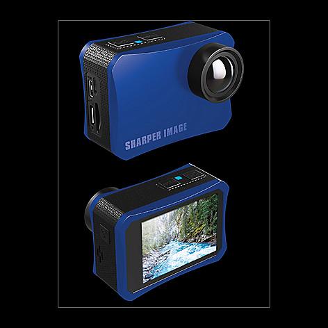 Sharper Image 4k Uhd Action Camera W Accessory Kit Evine