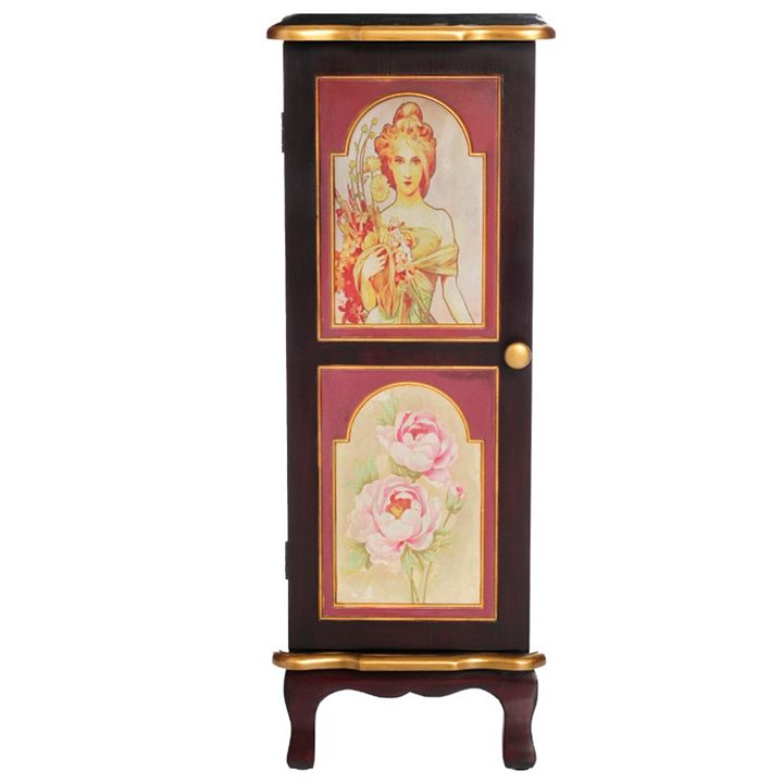 New Items Added Daily at Lowest Prices Ever at ShopHQ | 476-954 Style at Home with Margie 32 Vintage-Style Storage Cabinet