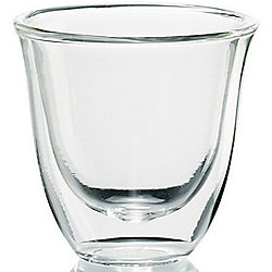 DeLonghi Set of 6 (2 oz) Double Wall Espresso Glasses