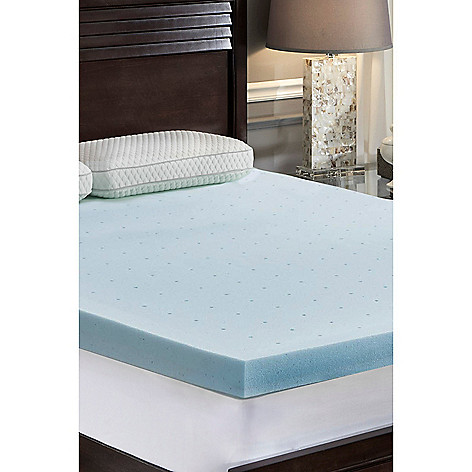 Memory Foam Mattress Topper.Loftworks 3 Jelly Soft Gel Memory Foam Mattress Topper