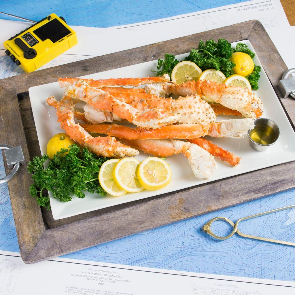 Captain Sig's, Seafood Alaskan, Golden King Crab, Legs & Claws, (4 lbs)