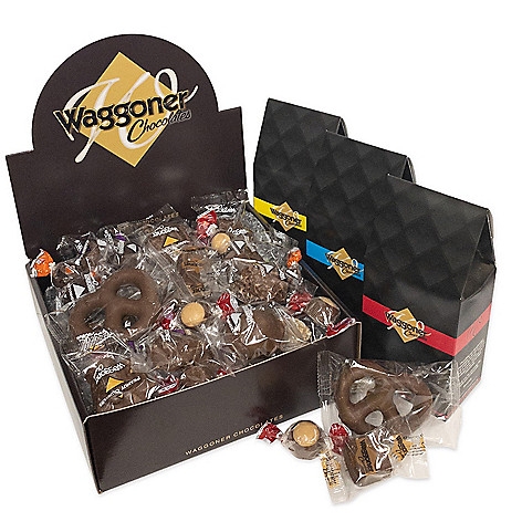 72986cdc5f2 478-644- Waggoner Chocolates Premium 3 lbs or 4 lbs Individually Wrapped  Chocolate Assortment