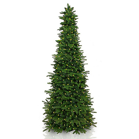 479 366 easy treezy choice of size pre lit led artificial christmas tree