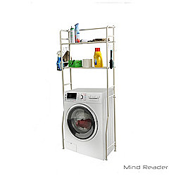 Mind Reader Washing Machine Storage Shelf