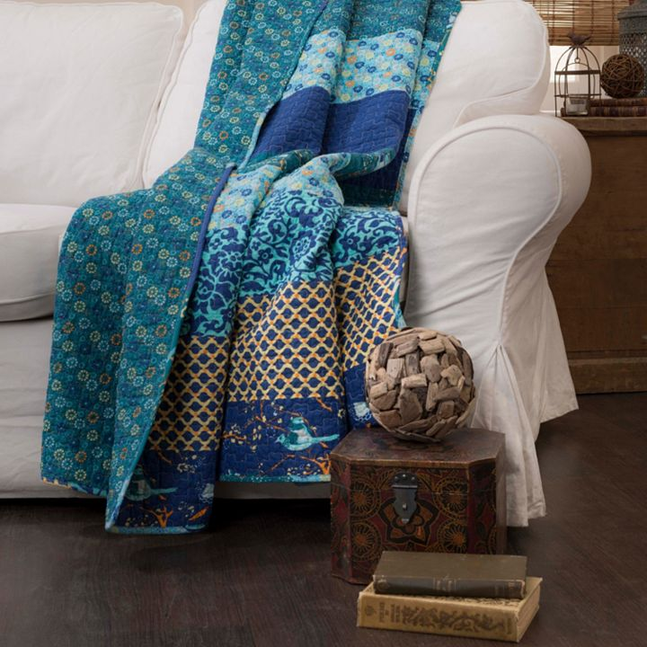 Cozy Home All Things Warm and Inviting at ShopHQ   479-599 Lush Decor Royal Empire 60 x 50 Multi Print Decorative Throw