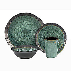 Cuisinart Stoneware 16-Piece Jenna Collection Dinnerware Set