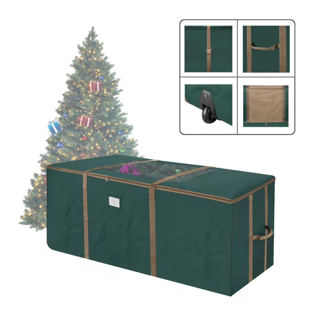 Bon Elf Stor Rolling Christmas Tree Storage Duffel Bag