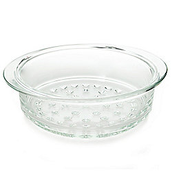 Cook's Tradition 3 qt Pot Glass Steamer w/ Storage Bag