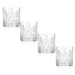 Waterford Crystal Lonraigh Set of 4 Hand Finished (7 oz) Tumblers