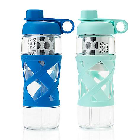 10626ebbc3 Aquasana Set of 2 (22 oz) Clean Water Bottles w/ Filter - EVINE