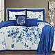 Porcelain Blue comforter set on your bed