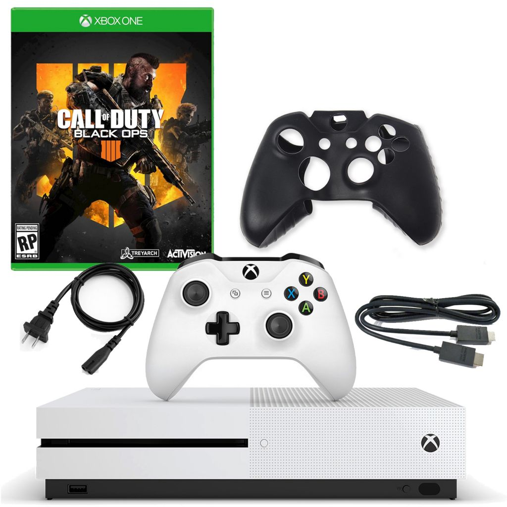 Microsoft Xbox One S 1TB Console w/ Call of Duty Black Ops & Silicone  Controller Sleeve