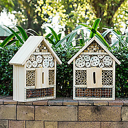 "Vifah ""Maya"" Set of 2 Wooden Insect Hotels"
