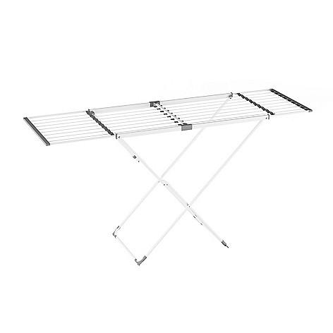 Lavish Home 66 Metal Extendable Folding Clothes Drying Rack Evine