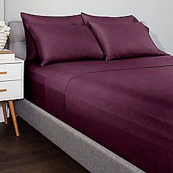 482-587 Cozelle® Jewel Microluxe™ Embossed 6-Piece Sheet Set - 482-587