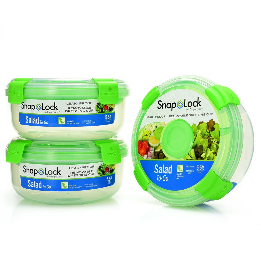 Progressive SnapLock Salad-to-Go Containers - 482-754